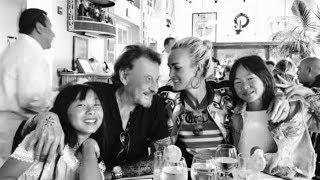 Johnny & Laeticia Hallyday et leurs filles