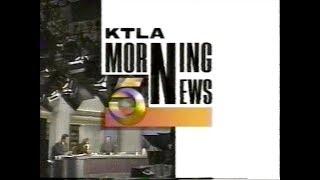 KTLA - Channel 5 Los Angeles - News Open & Close (1993 & 1994)
