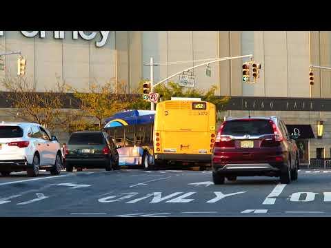 MTA Bus: Elmhurst bound XD60 5372 Q52 LTD at Woodhaven Blvd/Queens Blvd