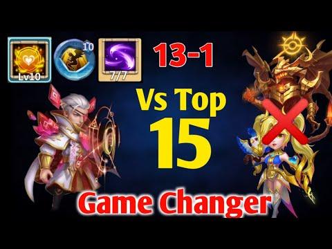 Rune Master Vs Top 15   Game Changer.?😲😲   10/10 Tenacity   7/7 Specter's Instinct   Castle Clash
