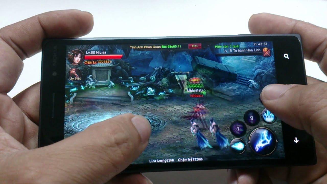 [Soha Game]Phá Thiên – Trải nghiệm phiên bản Windows Phone