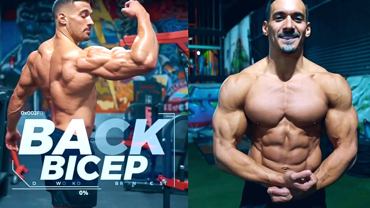 15 EXERCISES TO BUILD A BIG BACK & BIG ARMS