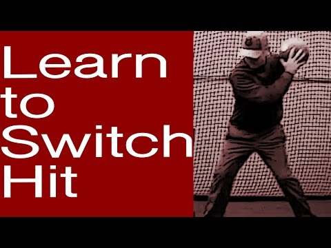 Learn to Switch Hit: Drill 1 The Easy Way to Switch Hit