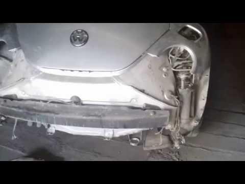 Видео Ремонт заднего бампера
