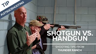 Shotgun vs. Handgun for Personal Defense in the Home - Thunder Ranch