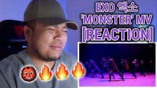 EXO 엑소 'Monster' MV [REACTION]