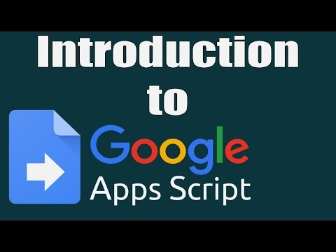 Introduction to Google Apps Script
