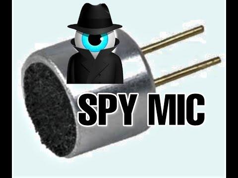 ||DIY Spy Microphone|| How To Make Spy Mic At Home @Random DIY