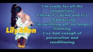 Lily Allen-Sheezus Lyrics