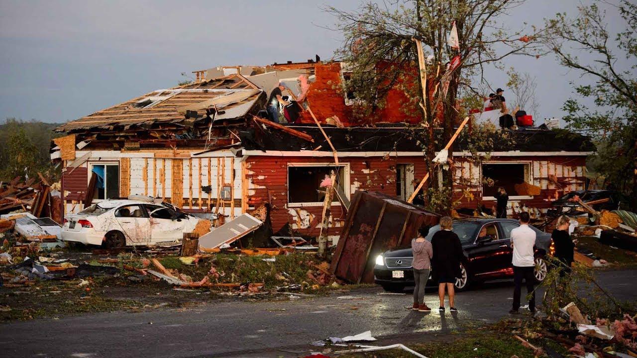 Tornado tears through Ottawa-Gatineau