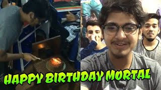 Happy birthday Mortal, Mortal celebrating birthday live in Instagram with Scout Ronak and family 🎉