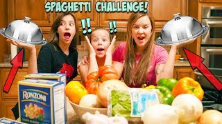20 MINUTE FAMILY COOK OFF CHALLENGE!!