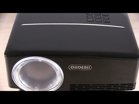 Excellent 1080P hd LED Mini Home Theater Projector Review - ohderii