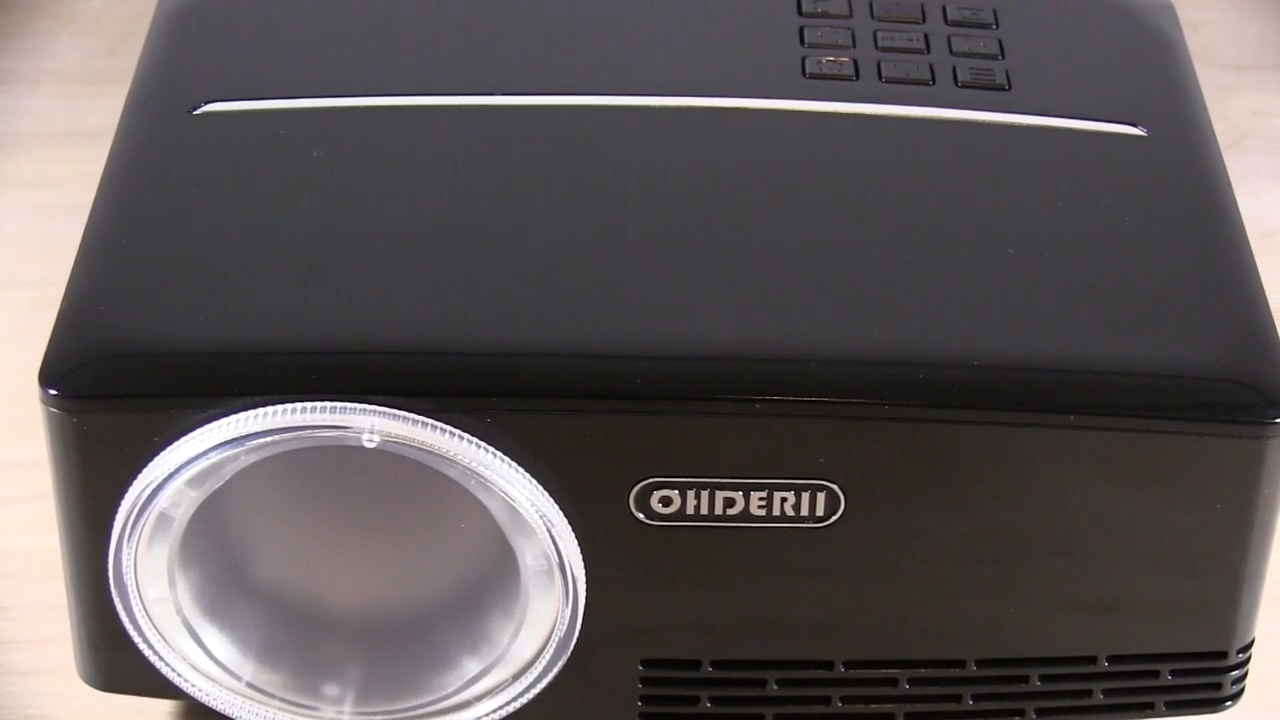 Excellent 1080P hd LED Mini Home Theater Projector Review - ohderii ...