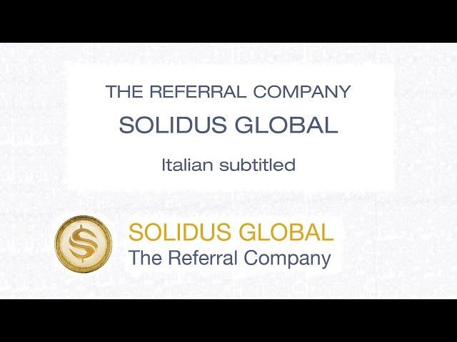 The Referral Company - Solidus Global - Italian CC