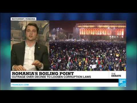 """Romania Protests: """"Corruption is everywhere, it"""