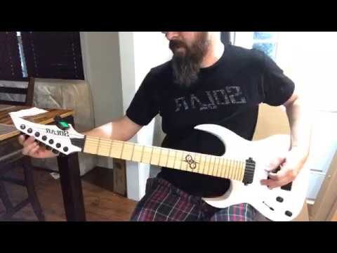 Unboxing my Solar Guitars A Series 7 string, the A2.7.