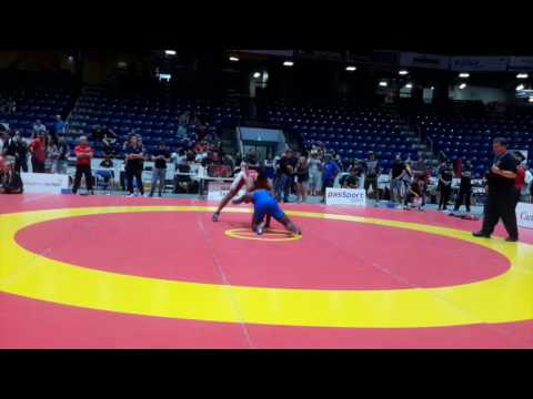 2016 Canada Cup: 97 kg Nishanpreet Randhawa (CAN) vs. Ignatius Pitt (CAN)