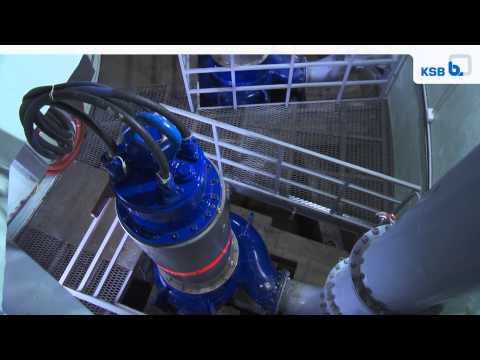 KSB Reference: Deepest Waste Water Pumping Station St Petersburg, Russia