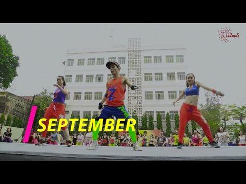 SEPTEMBER | Zumba Fitness Vietnam |  Zumba Dance Workout| Lazum3