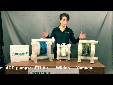 How to compare FTI Air, Wilden and Yamada pumps