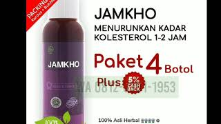 Gambar cover Jamkho obat herbal asam urat kolesterol 1jam turun Wa 081233011953