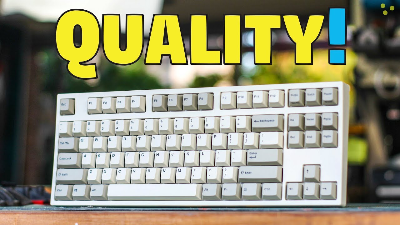 cc14dd0fa5b Leopold FC750R PD Mechanical Keyboard - Unboxing & Quick Review ...