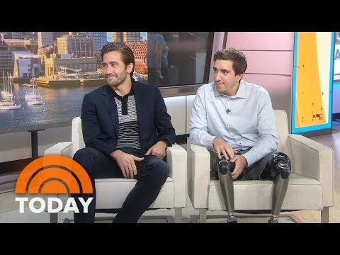 Jake Gyllenhaal And Jeff Bauman Talk About Inspiring New Film 'Stronger' | TODAY