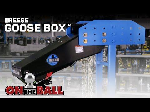 Tow a Fifth Wheel Trailer with a Gooseneck Hitch | REESE Goose Box