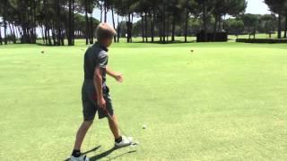 Golf video lesson. Урок по гольфу