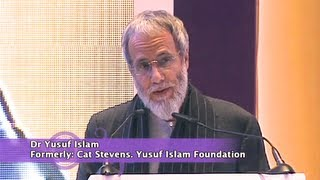 """Yusuf Islam (Cat Stevens) """"My view on the relationship between Art and Ethics"""" CILE Conference 2013"""