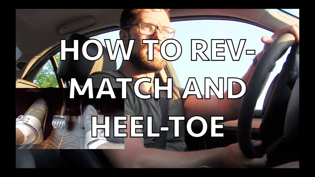 HOW TO DOWNSHIFT Revmatching and Heeltoe in an e46 BMW  YouTube