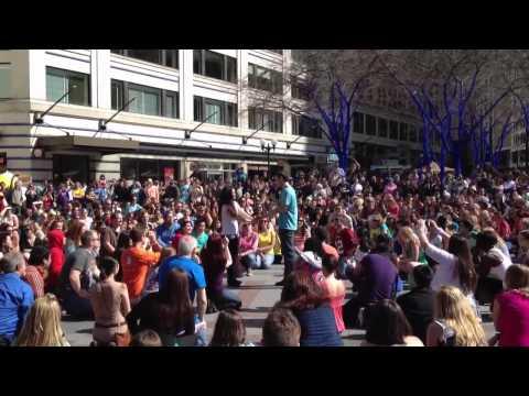 Seattle GLEE Flash Mob 2012 --