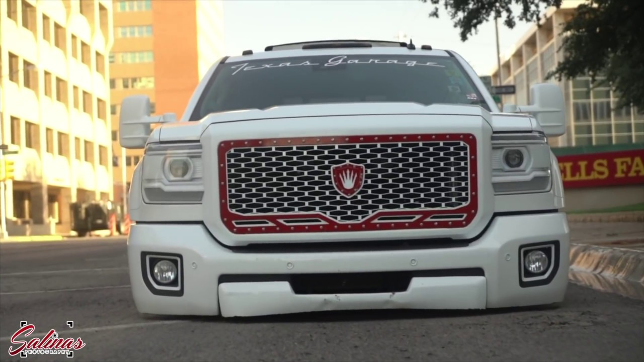 Bagged dually on 28 inch wheels! 2016 Denali brand new ...