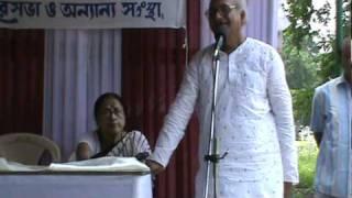 Prof. Ramaprasad De in context of Michael Madhusudan Dutta, Meghnad Badh Kavya, patriotism