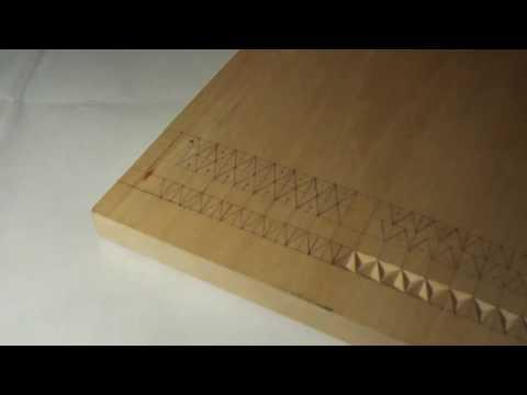 Геометрическая резьба по дереву. Урок 1