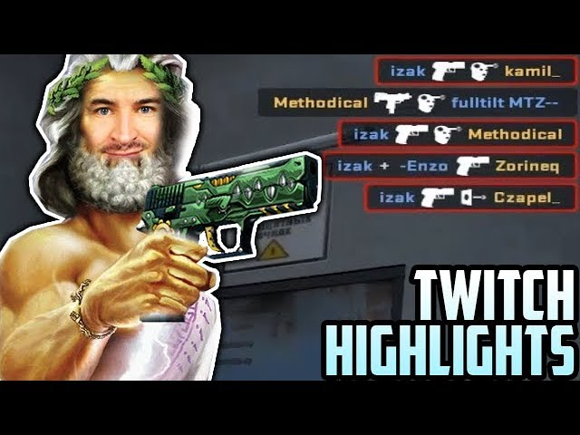 Z P250 GRAM JAK BÓG! - Twitch Highlights #12