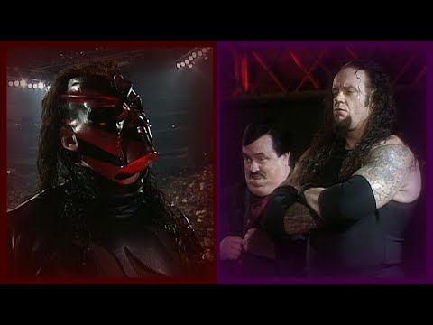 The Undertaker Displeased W/ X-Pac Restraining Kane From Attacking The Big Show 7/4/99