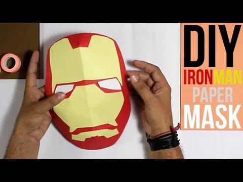 How to Make an Iron Man Mask | 3D Mask (Tutorial)