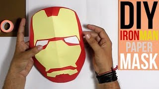 How to Make an Iron Man Mask | 3D Mask (Tutorial)