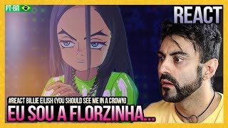 Baixar REAGINDO a Billie Eilish - you should see me in a crown (Official Video By Takashi Murakami)