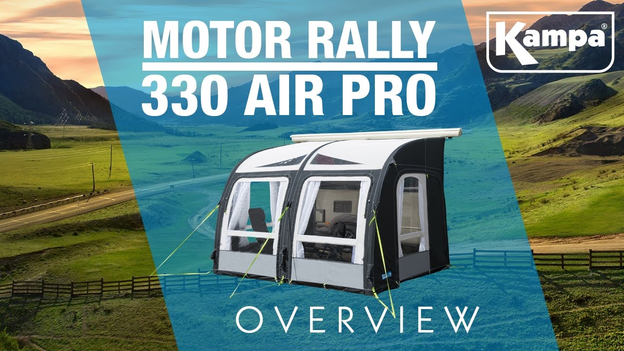 Kampa Motor Rally Air 330 Pro Overview Youtube