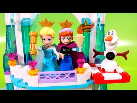 LEGO 41062 Disney Frozen Elsa's Sparkling Ice Castle Olaf and ...