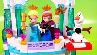 Lego 41062 Disney Frozen Elsa's Sparkling Ice Castle Olaf And Princess Anna