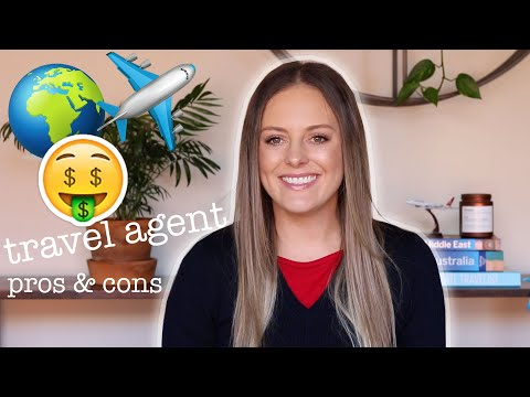 travel agent: pros and cons of working as a travel agent