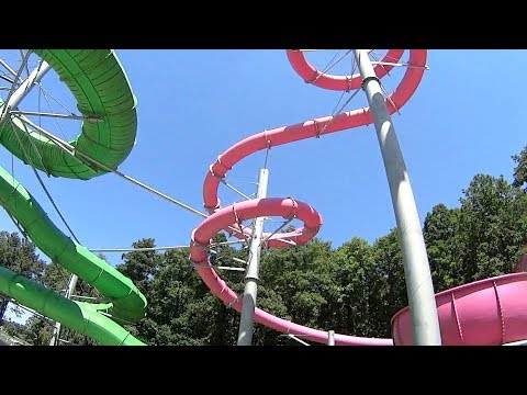Adrenalin Csúszdapark in Hungary (Classic House Music Clip!)