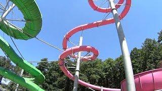 Adrenalin Csúszdapark in Hungary (Classic House Music Clip!)