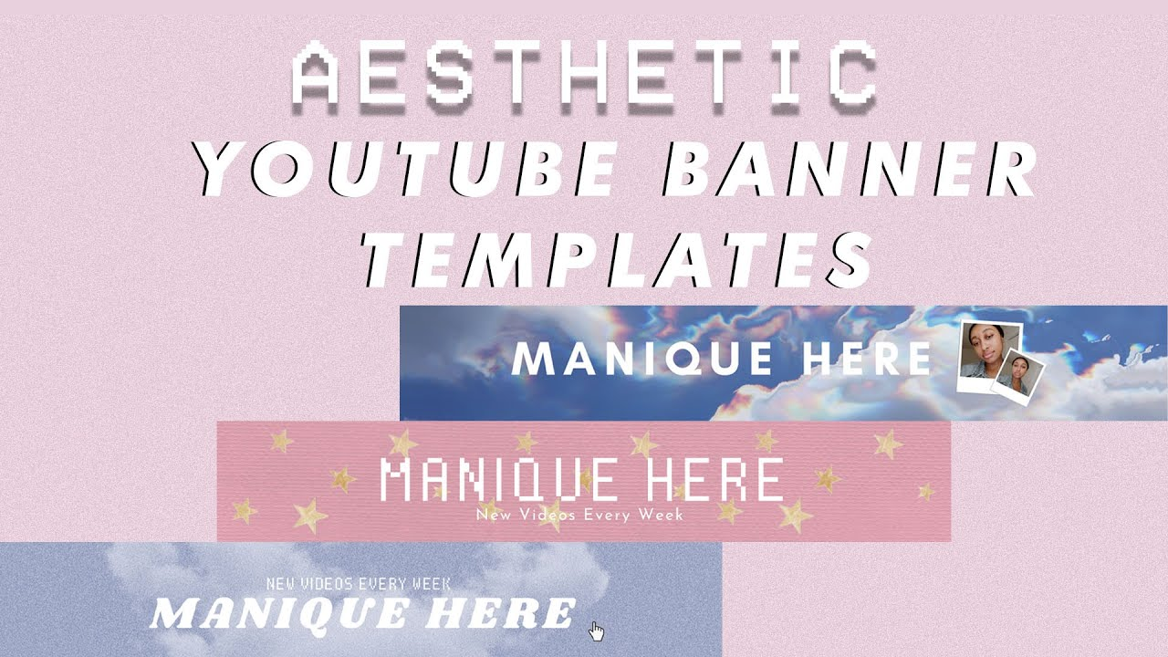 Our free online banner maker helps you easily create custom banners for youtube for all sizes in minutes. 23 Free Aesthetic Youtube Banner Templates Canva Youtube