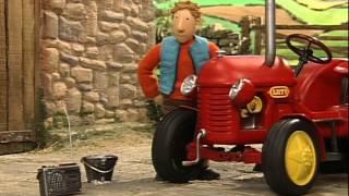 Kleiner Roter Traktor - Kreise im Kornfeld