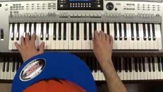 Klangkarussell - Netzwerk (Falls like Rain) piano & keyboard synth cover by LiveDjFlo